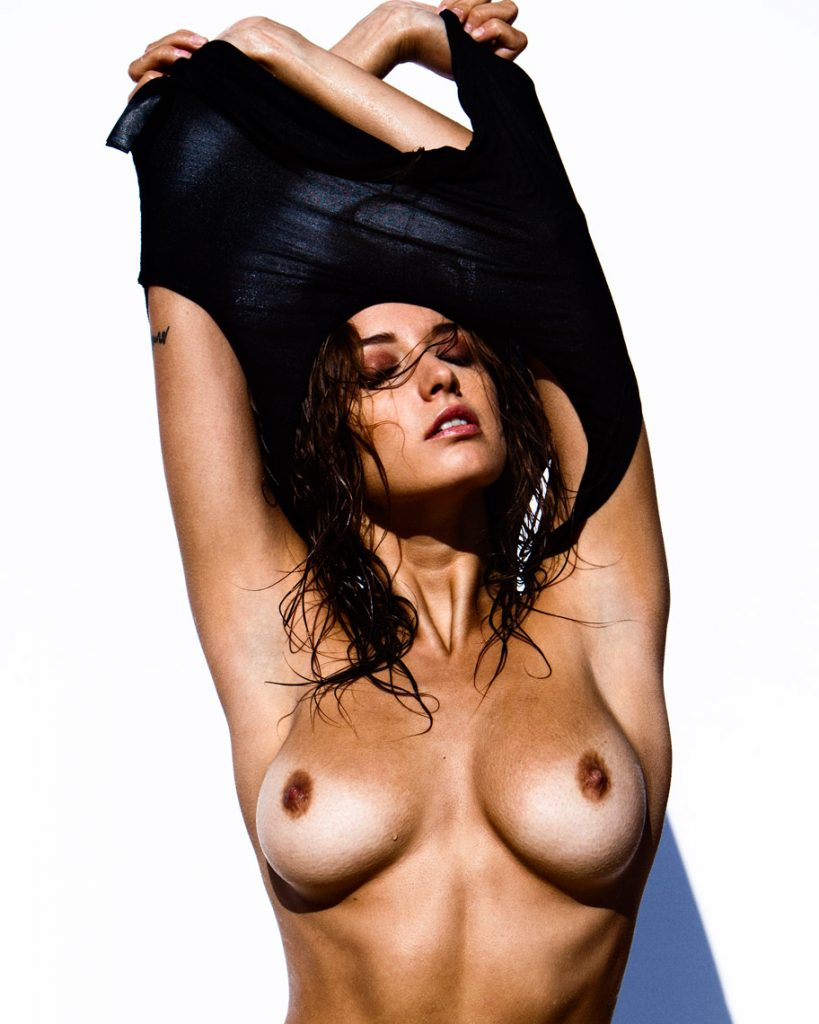 Alyssa Arce Topless (1 Hot Photo)