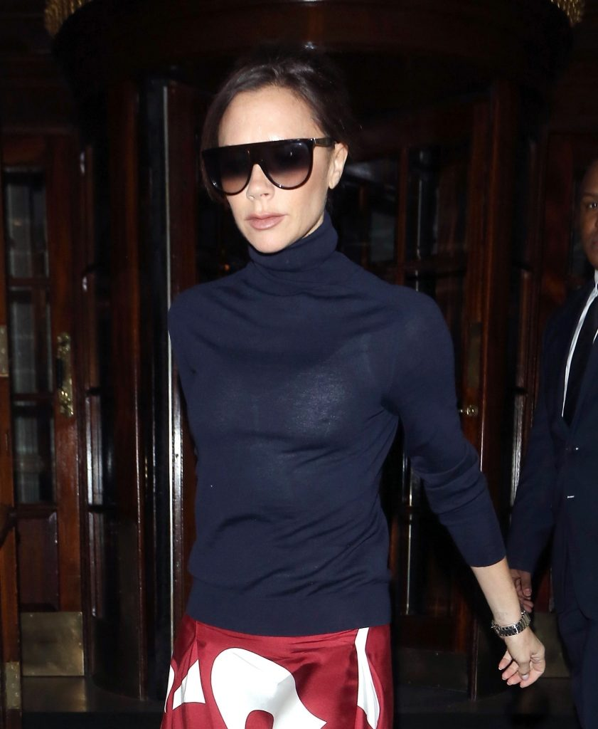 Victoria Beckham See Through (10 Photos)