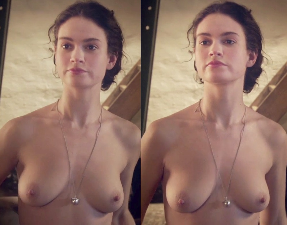 Lily James Nude Sex Scene Color Corrected In HD