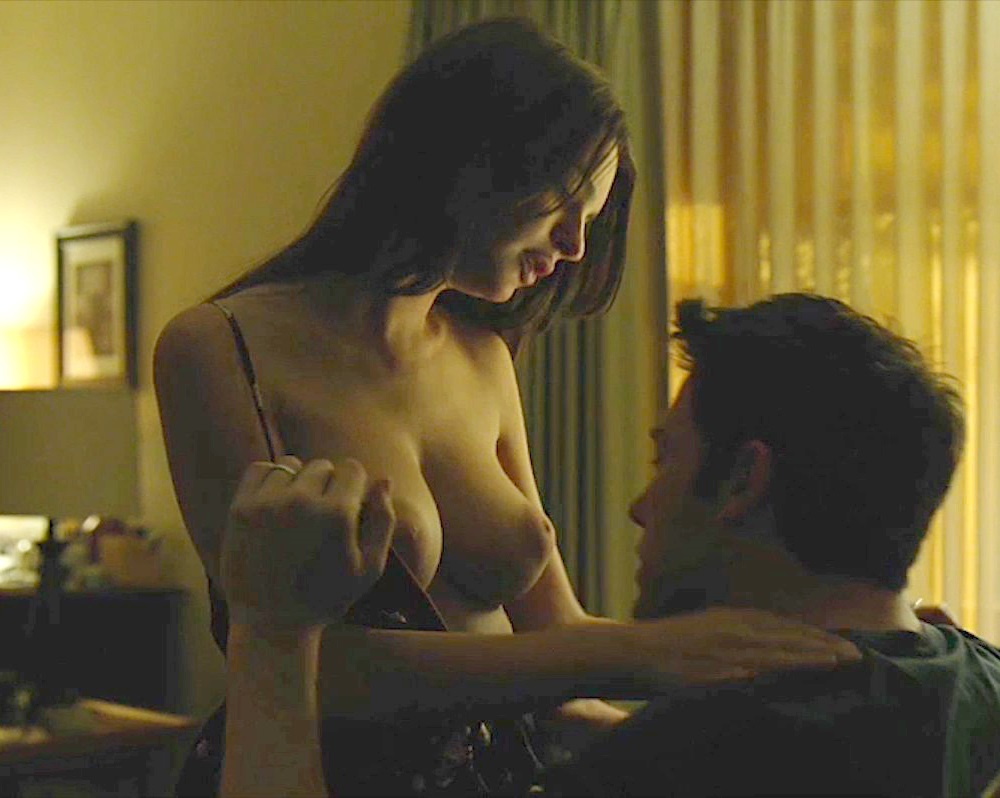 "Emily Ratajkowski ""Gone Girl"" Nude Scene Brightened And Color Corrected"