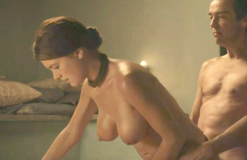 "Laura Surrich Nude Sex Scene From ""Spartacus"" Color Corrected In HD"