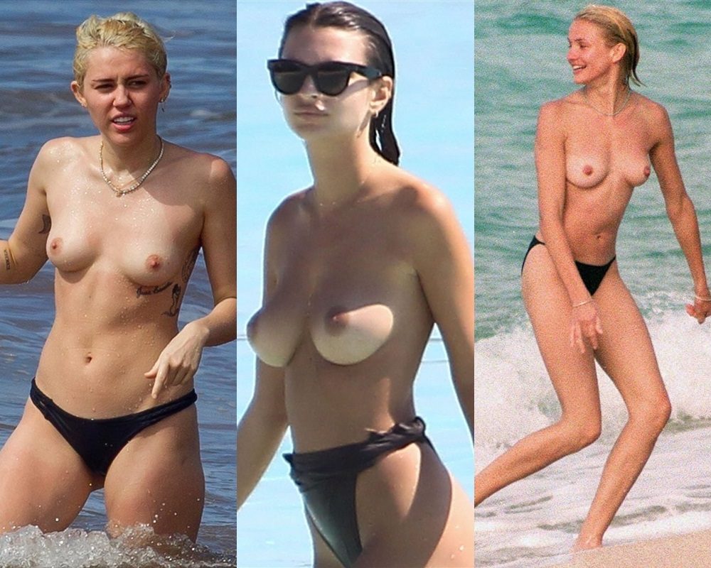 Top 20 Celebrities Nude Beach Photos