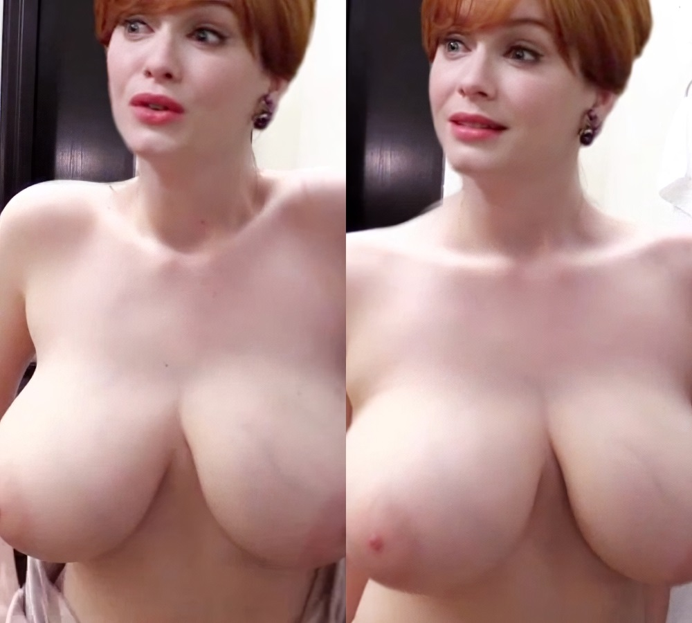 Christina Hendricks' Nude Tits Are Out Of Control