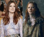 Rose Leslie on/off