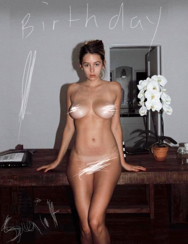 Keeley Hazell Nude Birthday Celebration