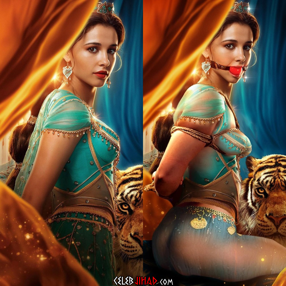 "Naomi Scott Nude Outtakes From ""Aladdin"""