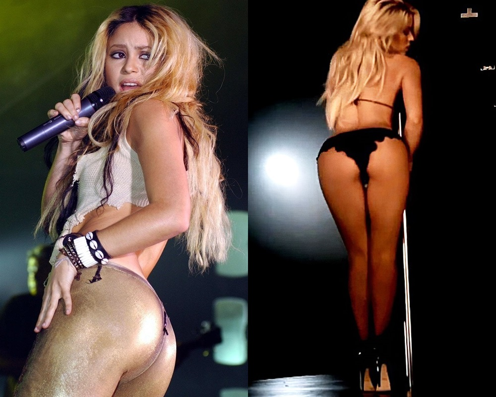 Shakira's Ass Cheeks Are Anti-Israel