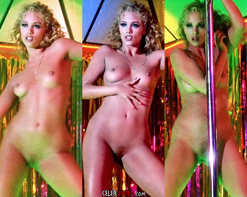 "Elizabeth Berkley Nude Scenes From ""Showgirls"""