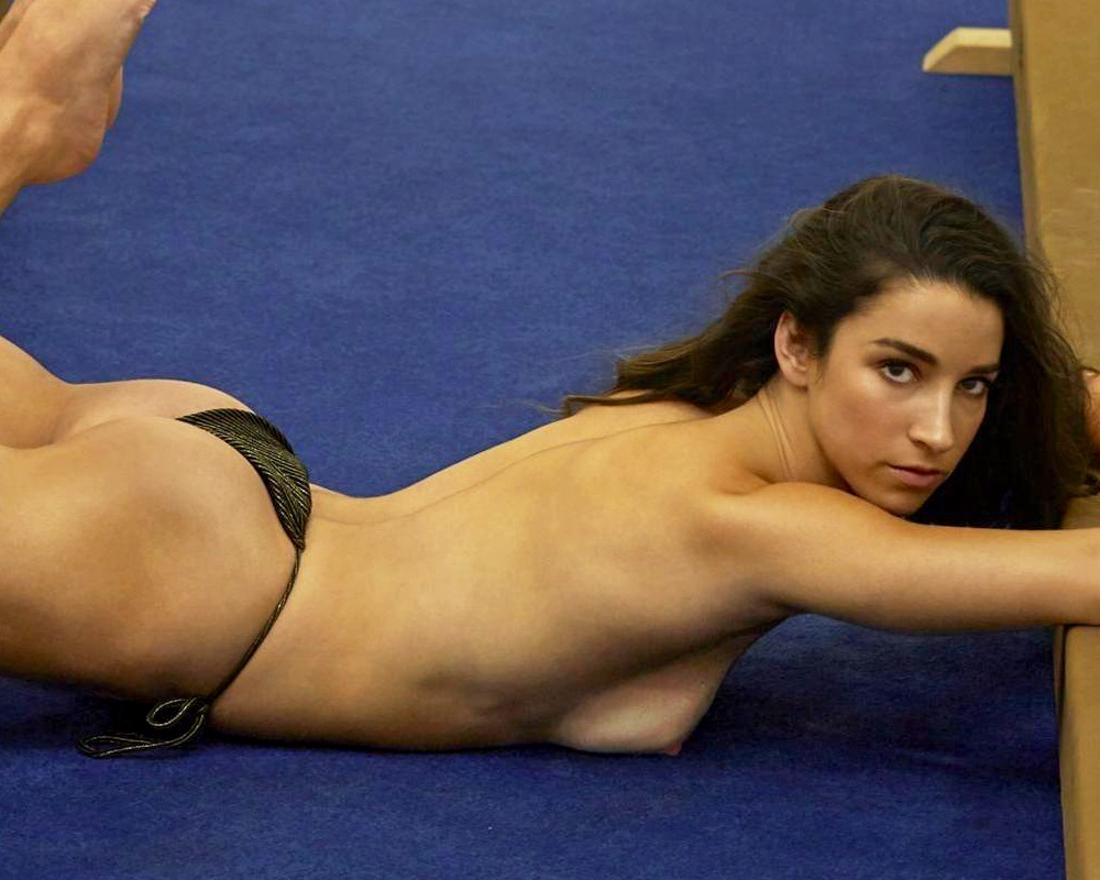 Aly Raisman Topless Nude Outtake Leaked