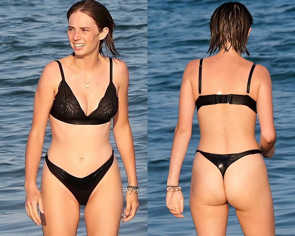 Maya Hawke's Ass Offends In A Thong